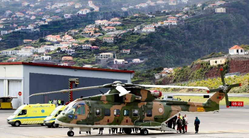 Medical evacuation from Porto Santo