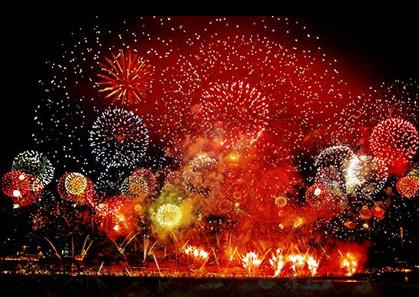 €1 million fireworks