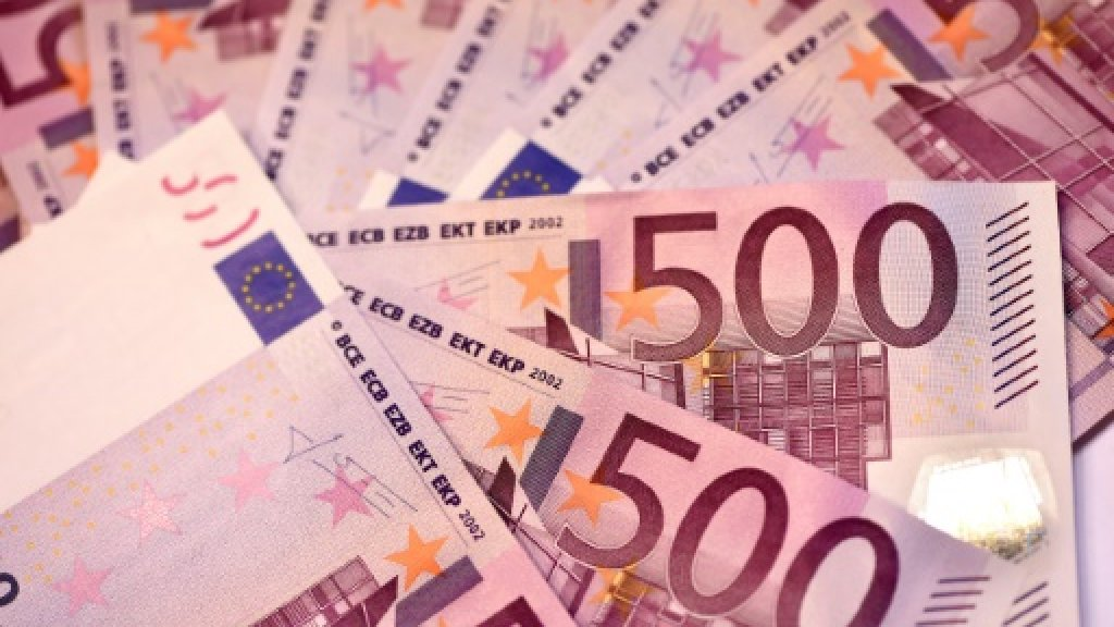 Photo of €500 note