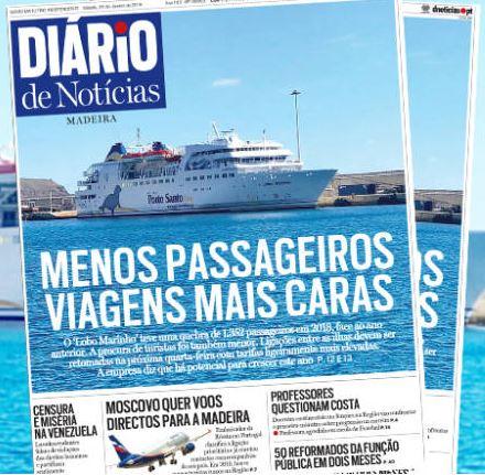 Porto Santo Ferry, the Lobo Marinh0