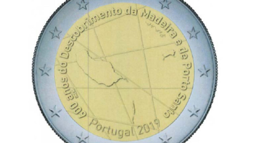 New €2 coins to mark the Discovery of Madeira and Porto Santo