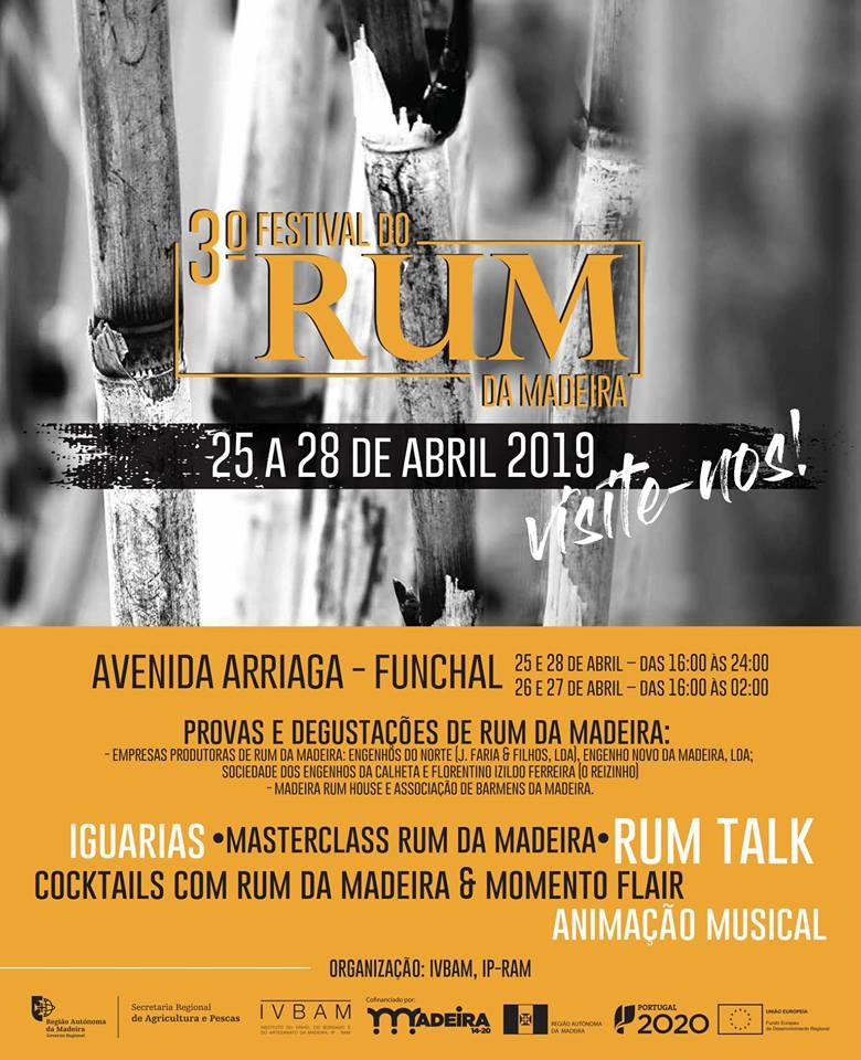 Madeira Rum Festival poster