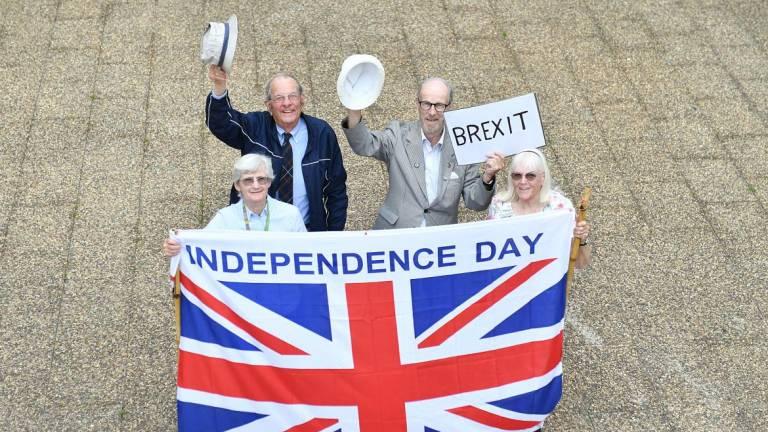 Brexit celebration in Funchal