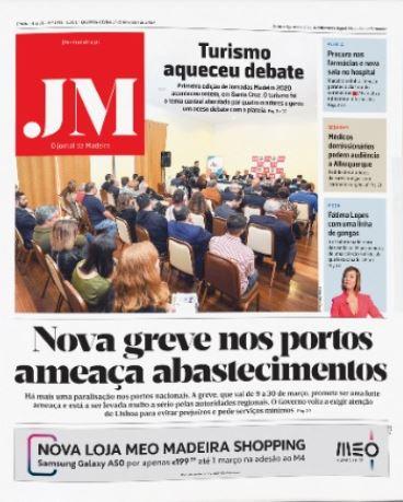 JM reporting port strike