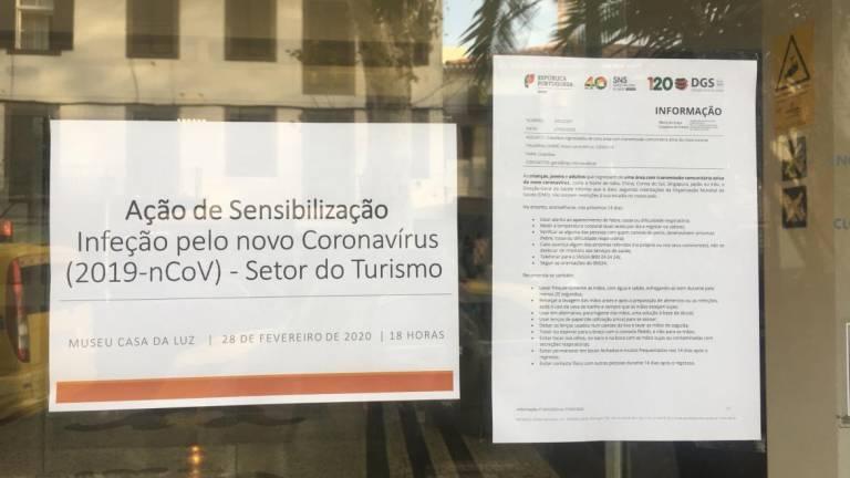 Poster for coronavirus conference