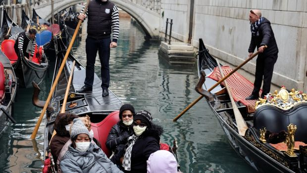 Picture of Venice canals as airlines refuse to refund flights from the UK