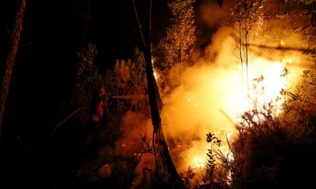Increased fire risk in Madeira